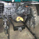 Anhängerkupplung PKW bis 3,5to mit Heckkraftheber an Unimog U900