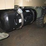 Zusatztank mit 200L an Unimog U1300L