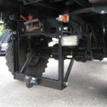 Anhängerkupplung PKW bis 3,5to zum Klappen an Unimog U1300L