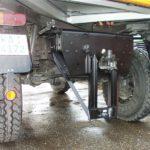 Anhängerkupplung PKW bis 3,5to an Unimog U1700