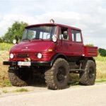 Unimog U900 Doppelkabine