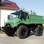 Unimog U406 Aufsteckbordwaende Frontkraftheber