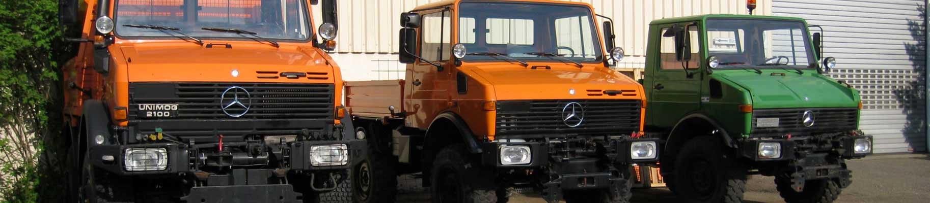 Unimog U2100 , Unimog U1200 , Unimog U1000