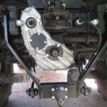 Unimog U417 mit Heckkraftheber und verlagerungsgetriebe