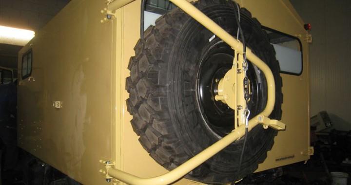 Unimog Ersatzradhalter