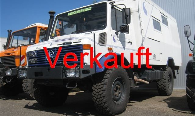 Unimog U1550 Wohnmobil Unicat